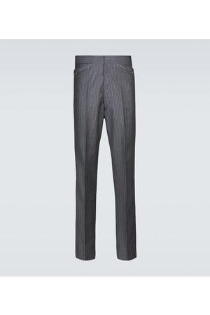 Maison Margiela Hombre De vestir - Pinstriped wool-blend pants