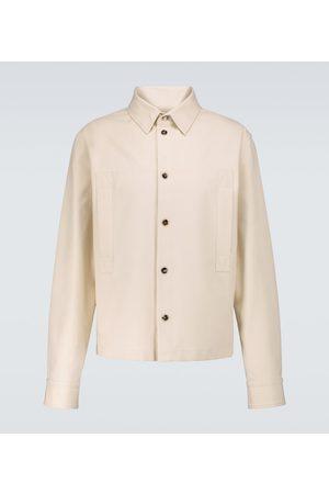Bottega Veneta Cotton twill long-sleeved shirt