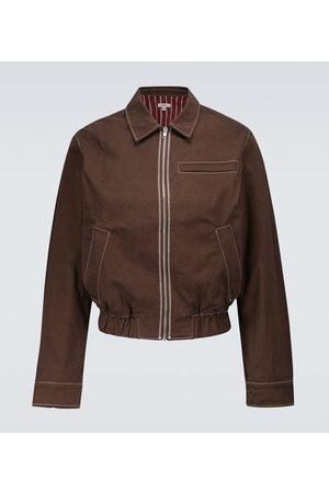 Phipps Hombre Chamarras - Dad topstitched blouson jacket