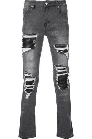 God's Masterful Children Hombre Skinny - Skinny jeans con efecto envejecido