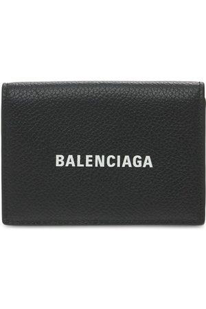 Balenciaga Hombre Carteras y Monederos - Billetera De Piel Con Logo
