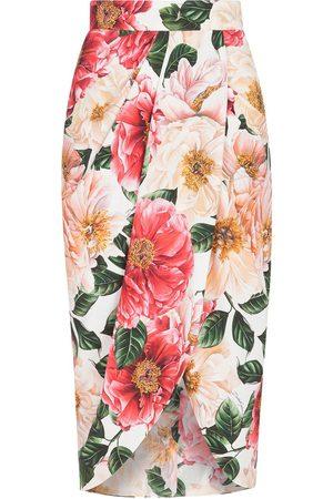 Dolce & Gabbana Mujer Estampadas - Falda con estampado floral
