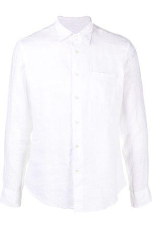 PENINSULA SWIMWEAR Hombre Camisas - Camisa con bolsillo y efecto arrugado