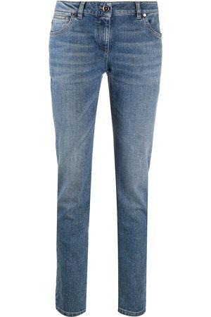 Brunello Cucinelli Mujer Rectos - Jeans rectos con tiro alto