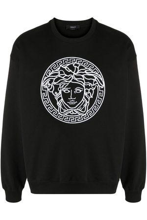 Versace Sudadera con bordado Medusa