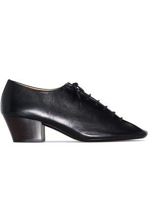 Lemaire Zapatos derby con puntera cuadrada