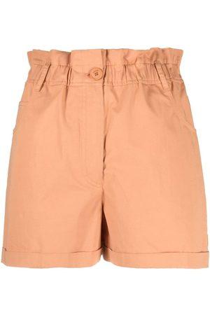 Kenzo Shorts con pretina fruncida