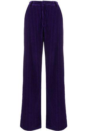 Ami Pantalones anchos con efecto pana