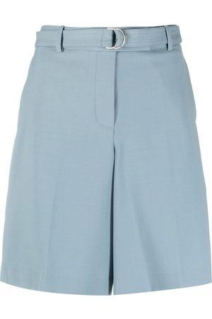 Helmut Lang Shorts anchos con cinturón