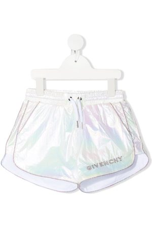 Givenchy Kids Shorts con efecto tornasolado