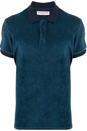 Orlebar Brown Short-sleeved cotton polo shirt