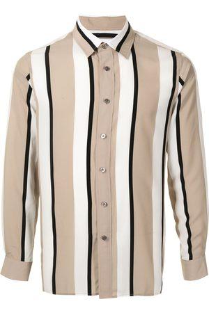 Ports V Camisa de rayas verticales