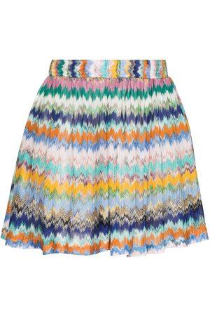 Missoni Shorts con estampado en zigzag