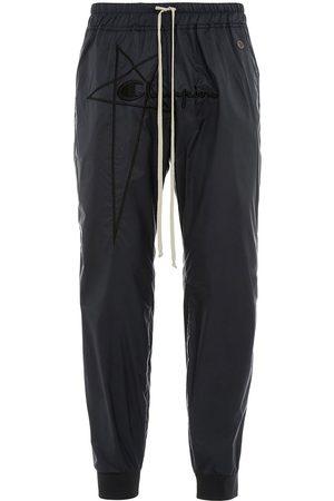 Rick Owens Shorts deportivos con logo bordado de x Champion
