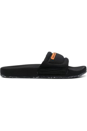 Heron Preston FABRIC SLIDER BLACK NO COLOR