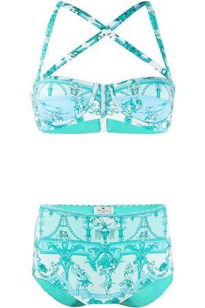 Etro Scarf-print bikini set