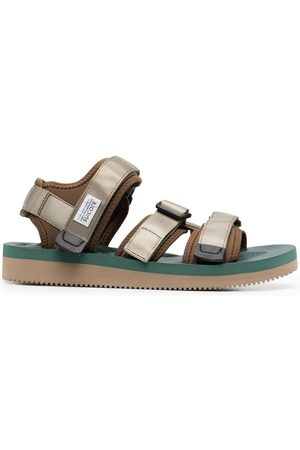 SUICOKE Touch-strap flat sandals