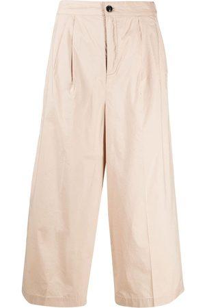 Woolrich Pantalones capri con pretina elástica