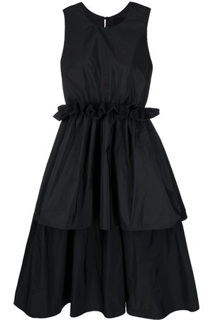 RED Valentino High-low pleated dress