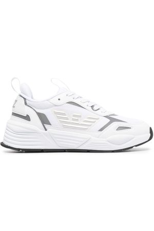 EA7 Mesh-panel low-top trainers