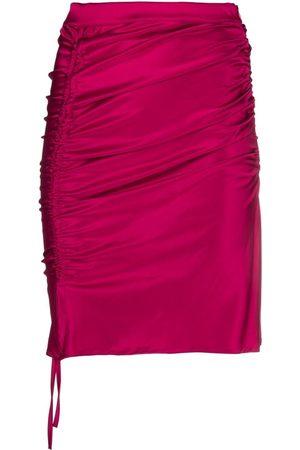 GCDS Mujer Faldas - Falda con cierre de cordón