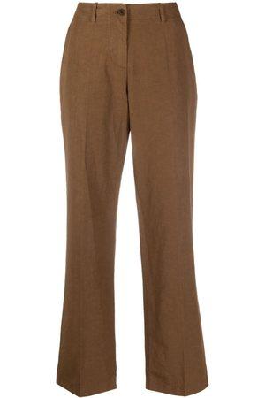 Aspesi Pantalones anchos con tiro medio