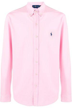 Ralph Lauren Camisa con logo bordado