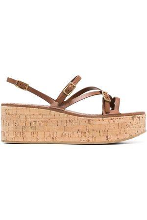 Tod's Mujer Sandalias - Strap-detail platform sandals