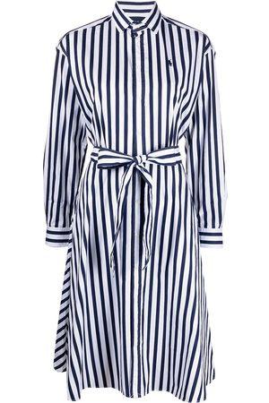 Polo Ralph Lauren Vestido camisero con rayas