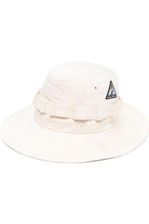 Jil Sander Sombrero de verano con parche del logo