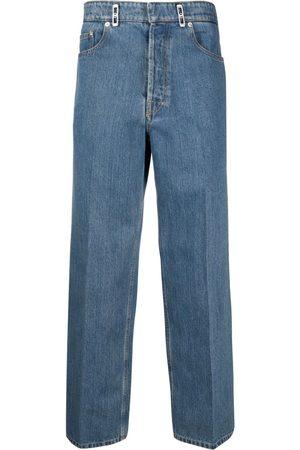 Lanvin Jeans rectos con parche del logo