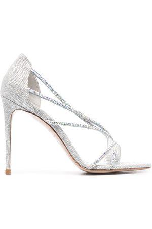 LE SILLA Divina glitter-effect sandals