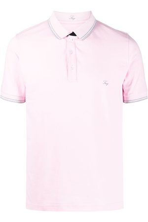 FAY Playera tipo polo con logo bordado