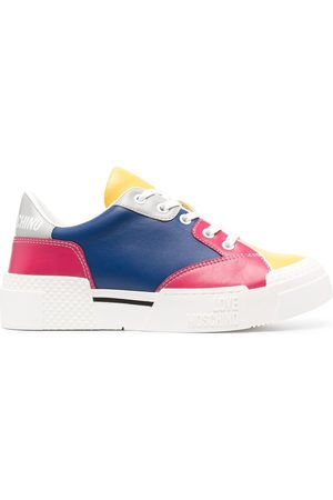 Love Moschino Colour-block panel sneakers