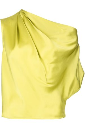 Michelle Mason Mujer Blusas - Blusa de seda drapeada
