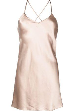 Michelle Mason Vestido corto con corte al bies