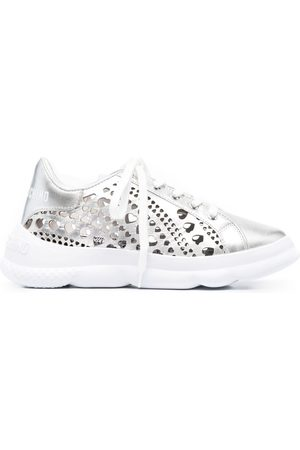 Love Moschino Heart cut-out sneakers