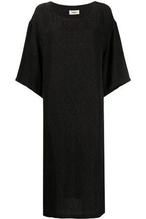BARENA Vestido estilo playera con cuello redondo