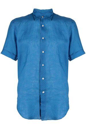 PENINSULA SWIMWEAR Camisa con estampado geométrico