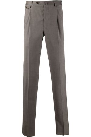 PT01 Pleat-detail tailored trousers