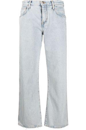 Alanui Jeans rectos con tiro medio