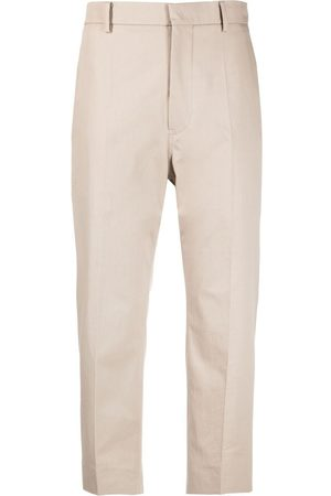 SOFIE D'HOORE Cropped high-waisted trousers