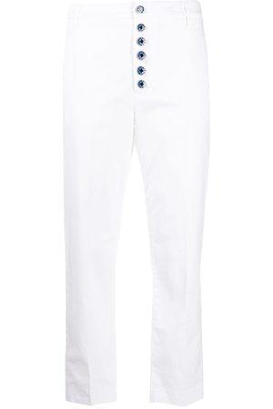 Dondup Button-down straight-leg trousers
