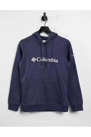 Columbia Logo hoodie in navy