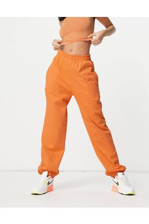 I saw it first Joggers in orange