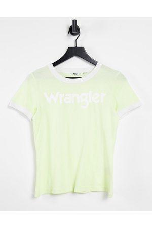 Wrangler Short sleeve ringer t