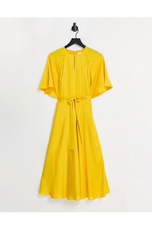 Ted Baker Hariiet maxi dress in yellow