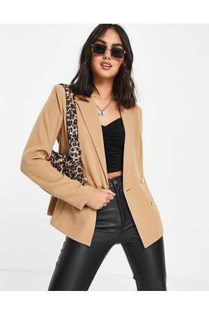 Outrageous Fortune Mujer Sacos - Tailored blazer in camel co ord