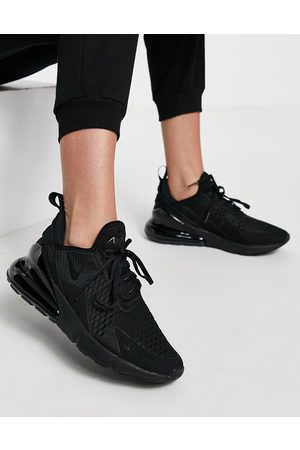 Nike Air Max 270 Trainers in triple black