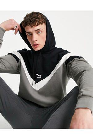 Puma Iconic Mcs hoodie in grey